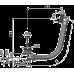 Слив-перелив Alca Plast A55BLACK черный-мат
