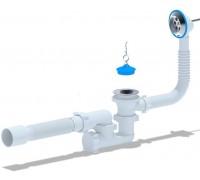 Слив-перелив для ванны АНИ-Пласт с выпуском, с переливом,Е255