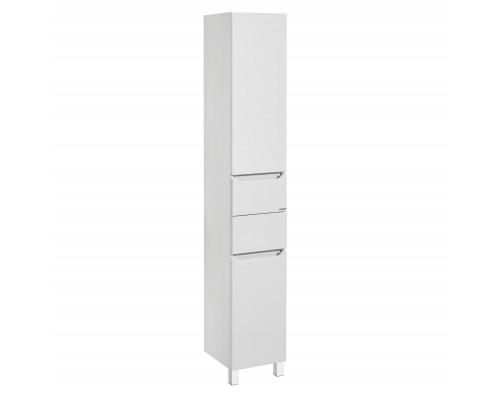 Шкаф-колонна Акватон Дакота 1A203203DAAY0 белый глянцевый/выбеленное дерево
