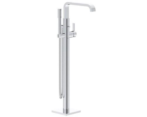 Смеситель напольный Grohe Allure 1/2″ 32754002 для ванны и душа