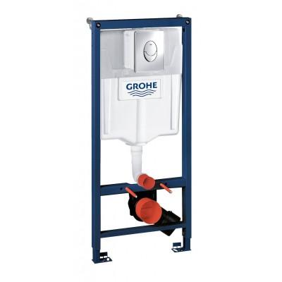Инсталляция Grohe Rapid SL 38721001 3 в 1 с кнопкой смыва Skate Air