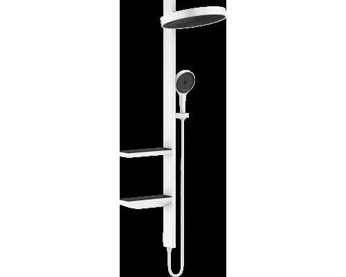 Душевой гарнитур Hansgrohe Rainfinity Showerpipe 360 26842700 скрытого монтажа, белый