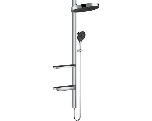 Душевой гарнитур Hansgrohe Rainfinity Showerpipe 360 26842000 скрытого монтажа, хром