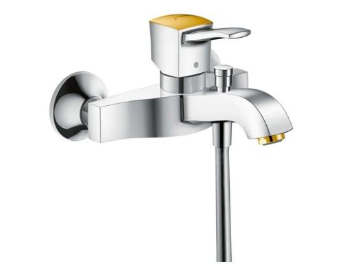 Смеситель для ванны Hansgrohe Metropol Classic 31340090 хром/золото