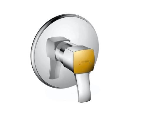 Смеситель встраиваемый для душа Hansgrohe Metropol Classic 31365090 (для 01800180) хром/золото