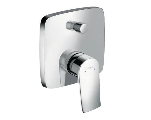Смеситель встраиваемый для ванны Hansgrohe Metris S 31451000 (для 01800180)