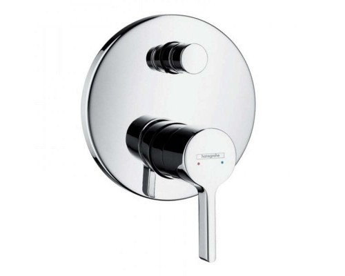 Смеситель встраиваемый для ванны Hansgrohe Metris S 31466000 (для 01800180)
