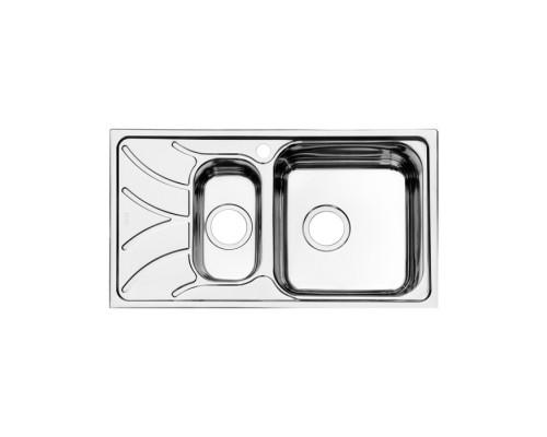 Мойка кухонная IDDIS Arro S ARR78PZi77 полированная