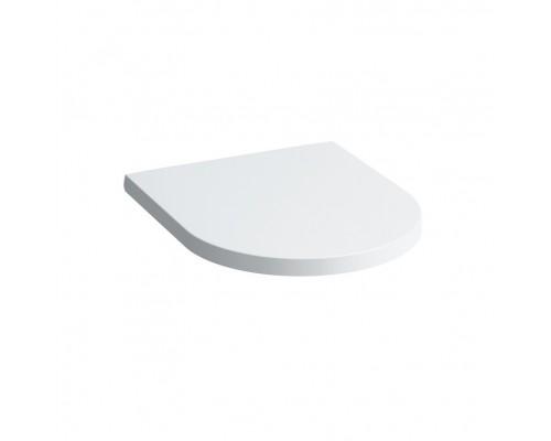 Крышка-сиденье Laufen Kartell 8.9133.1.000.000.1 с микролифтом, петли хром