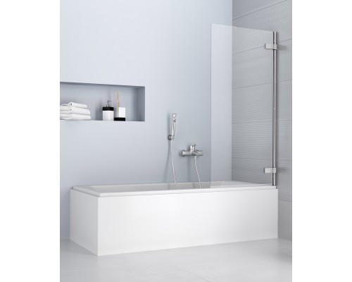 Душевая шторка для ванны Radaway Arta PNJ 210101-01R 700x1500, правая