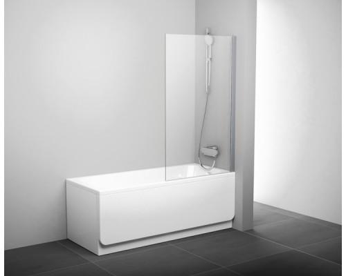 Шторка для ванны  RAVAK Pivot PVS1-80  белый+транспарент
