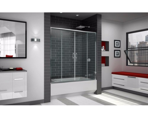 Душевая шторка для ванны RGW SC-61 01116115-11 1500x1500 прозрачное