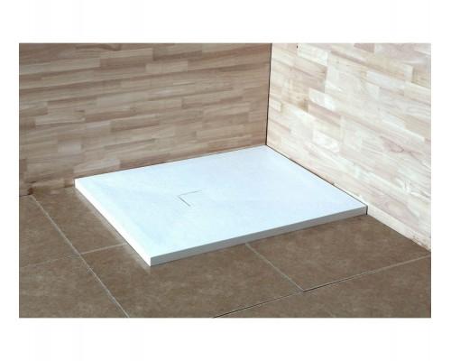 Душевой поддон из иcкусcтвенного камня RGW ST 16152012-01 1000x1200x25 белый, с крышкой в цвет поддона