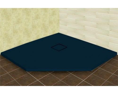 Душевой поддон из иcкусcтвенного камня RGW ST 16155099-02 900x900x25 серый, с крышкой в цвет поддона