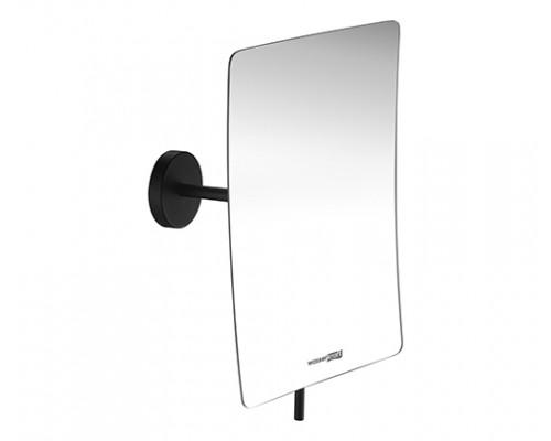 Косметическое зеркало WasserKRAFT K-1001BLACK с 3-х кратным увеличением