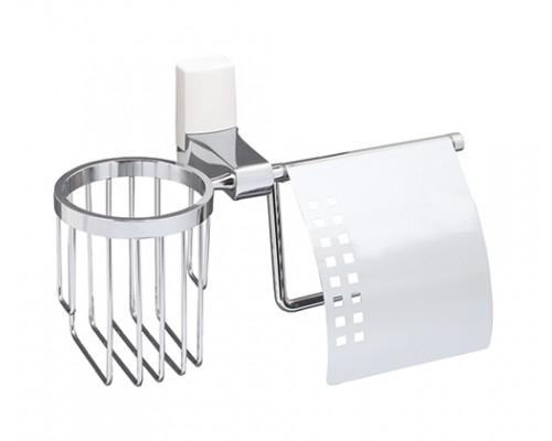 Держатель туалетной бумаги WasserKRAFT Leine K-5059W