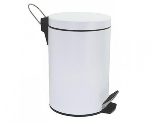 Ведро для мусора WasserKRAFT K-635W 5 л с педалью