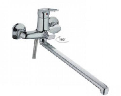 Cмеситель для ванны Haiba HB2213 длинный излив