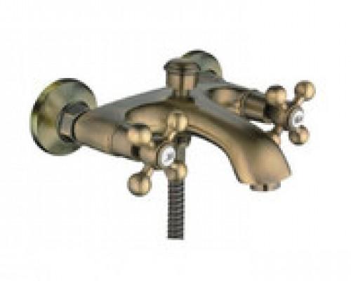 Cмеситель для ванны Haiba HB3119-4 короткий излив