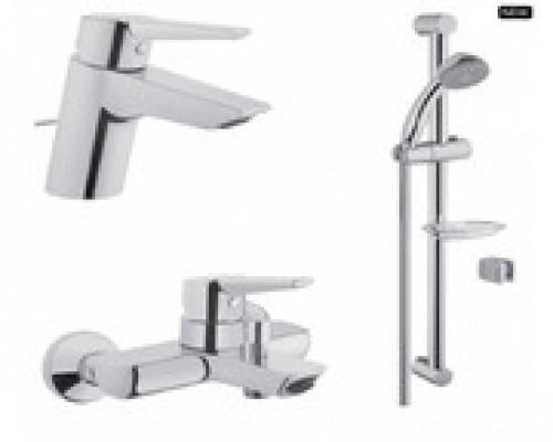 Набор смесителей VitrA Solid S A49227EXP для ванны, раковины и душа