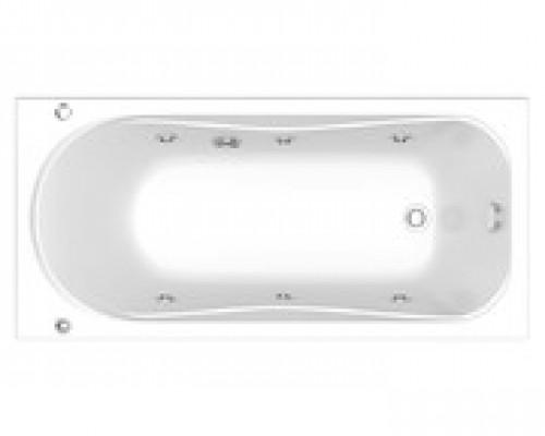 Акриловая ванна BAS Верона 1500х700 без гидромассажа