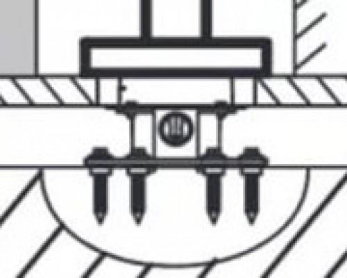 База для напольного смесителя Jacob Delafon Stillness 97906D-NF