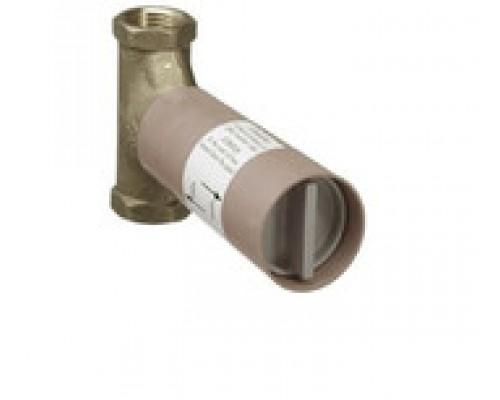 Запорный вентиль Hansgrohe 15970180 шпиндельный, скрытая часть