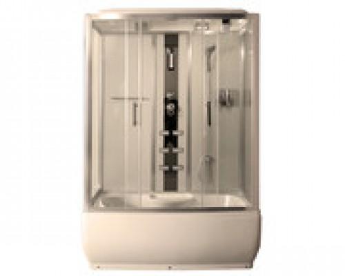 Душевая кабина Comforty 186 прозрачное стекло (150х80х215)